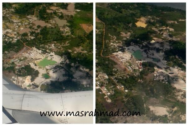 pulau bangka dilihat dari udara