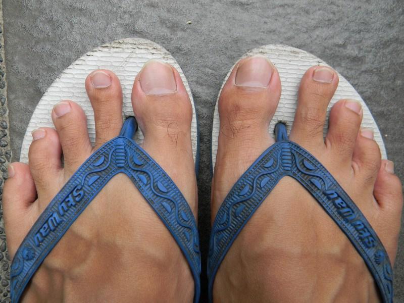 gambar 1 - ukuran penis dari jempol kaki