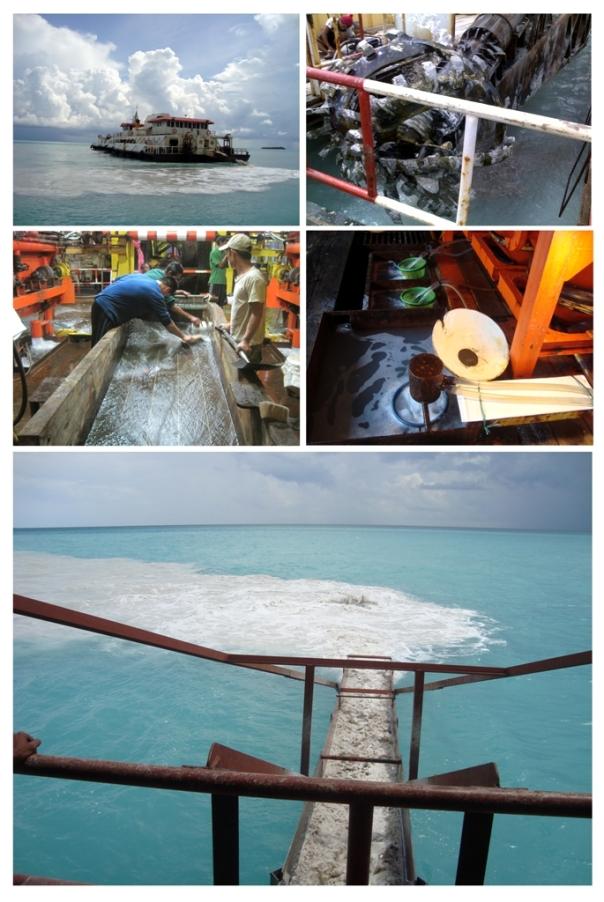Cara kerja kapal isap produksi