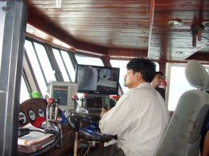 Nakhoda kapal isap produksi kebangsaan Thailand